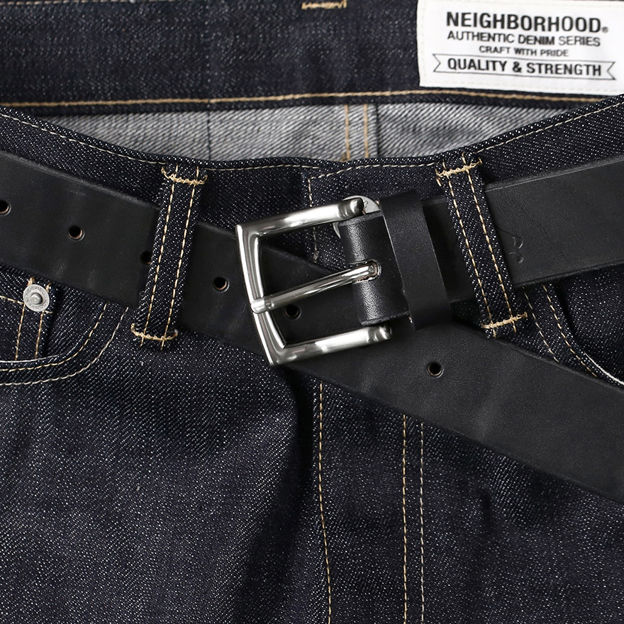 No.1 Silver Belt - Black