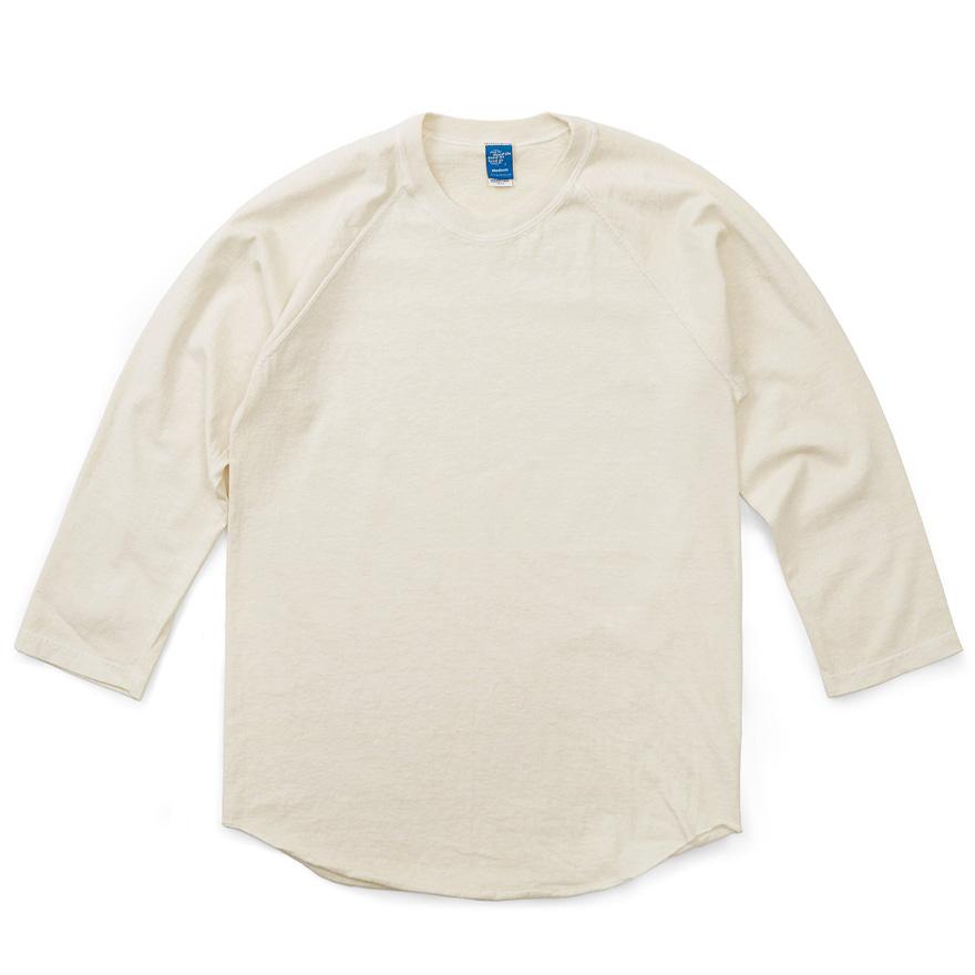 굿온 베이스볼 9부 티셔츠 - 피그먼트 네츄럴