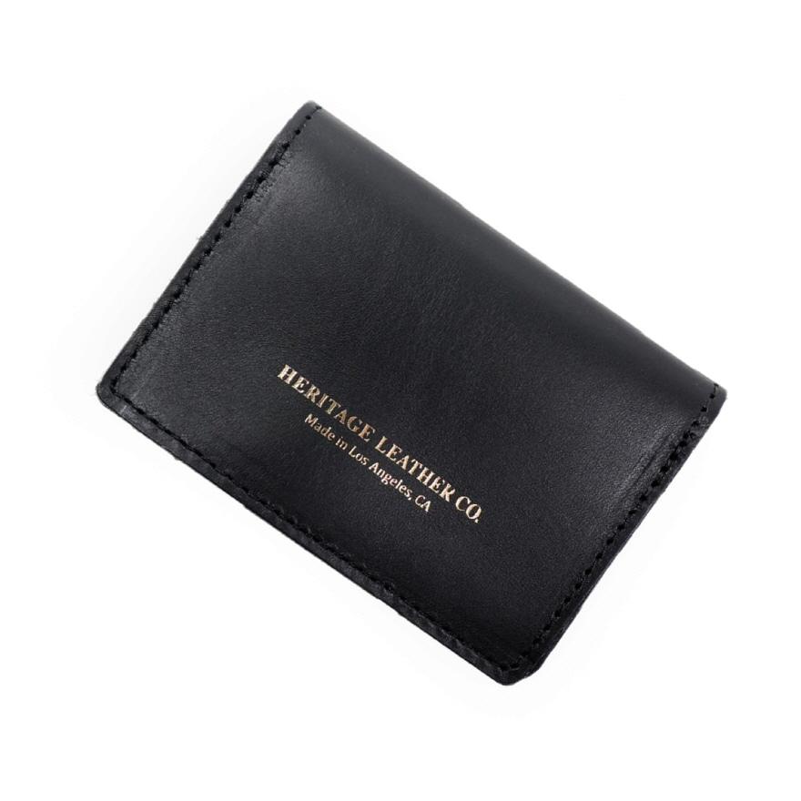 Pocket Card Case - Black