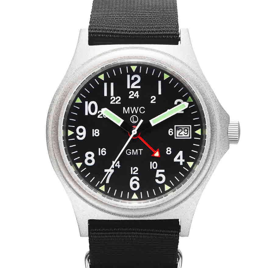 G10 10기압방수 GMT 영국군시계 (미군24시 버전) - 시계줄 2개 제공