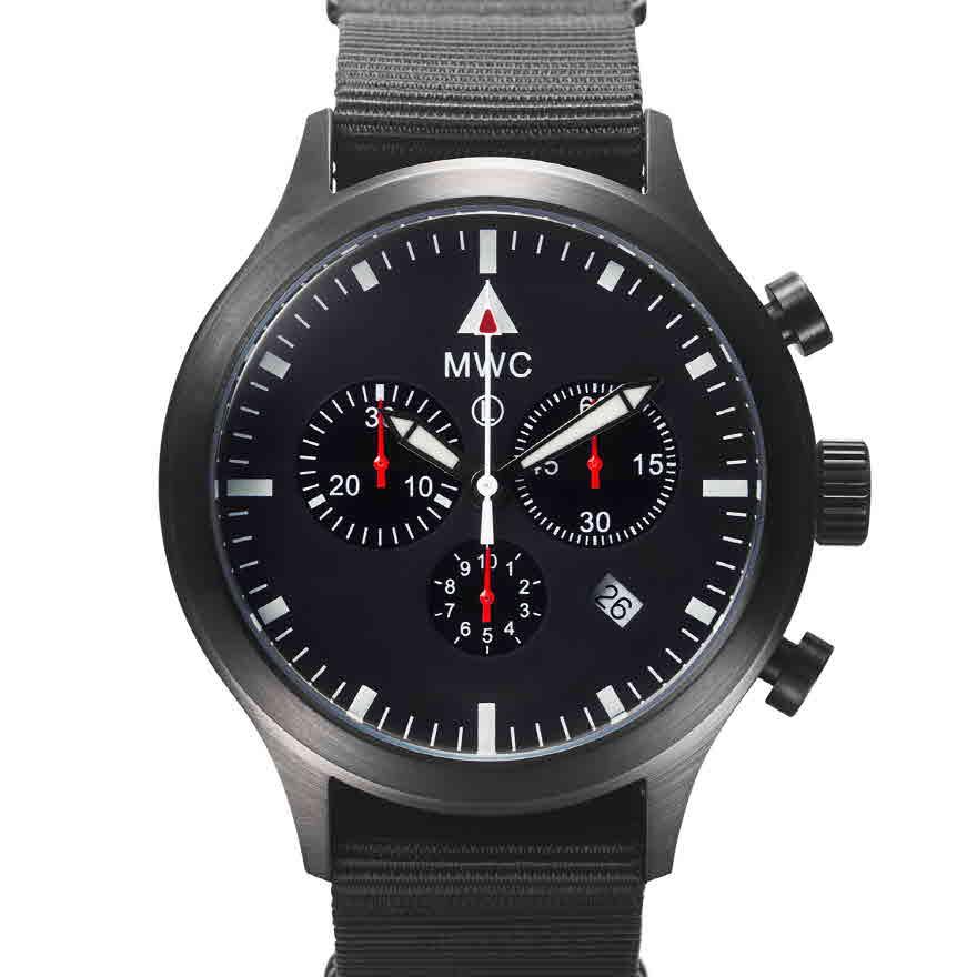 Chronograph Mark4 Pilot PVD