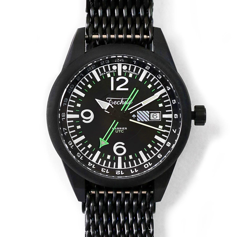 해리어 368 카본 GMT - 샤크메쉬 스트랩 PVD