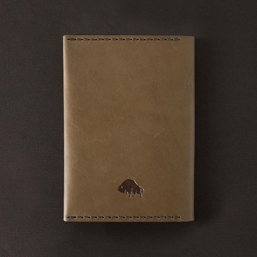 No.5 Passport Wallet - Whiskey
