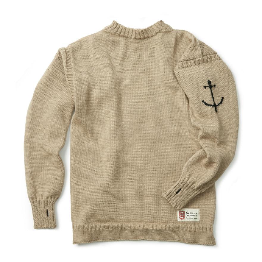 건지 트래디셔널 스웨터 - Camel