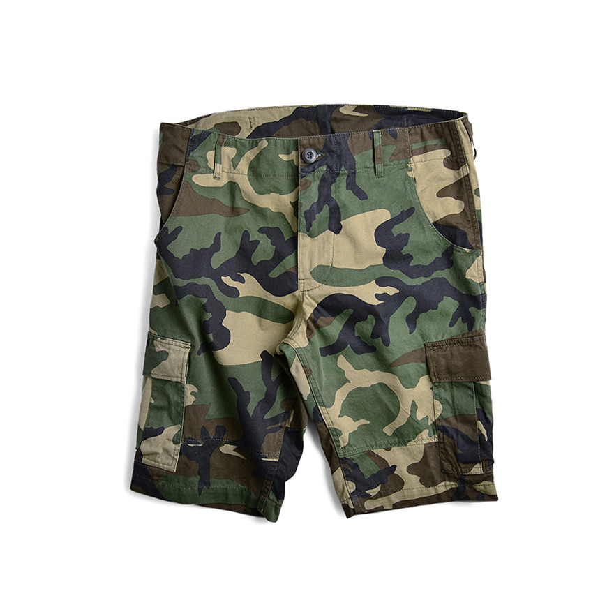 BDU Short Pants - Wood