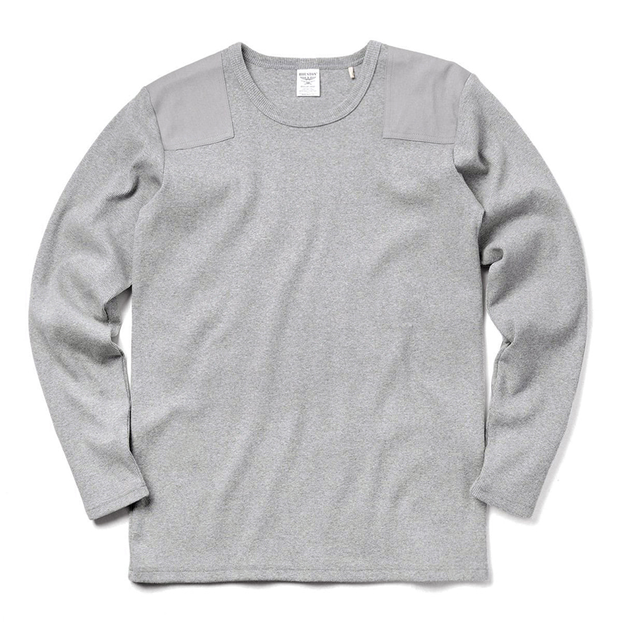 Command L/s Tee - Grey