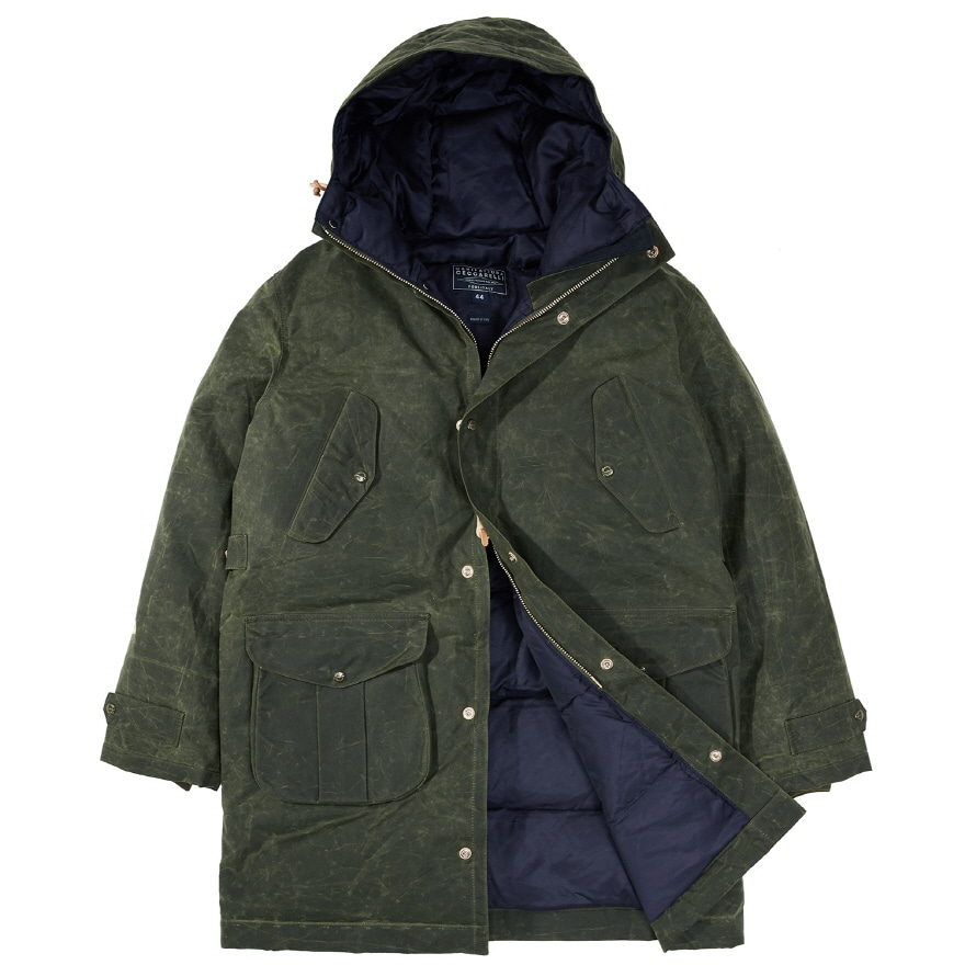 [재입고] Alaska Parka - Dark Green
