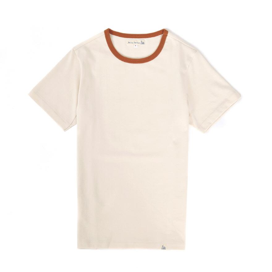 [진열상품] 215T 2-tone T-Shirts - Nature/Light Rust