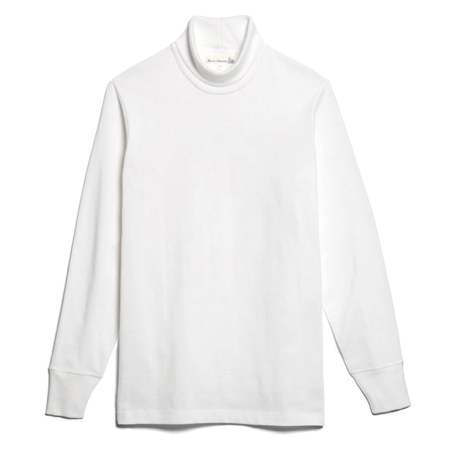 [진열상품] 219 Turtle Neck Long Sleeve - White