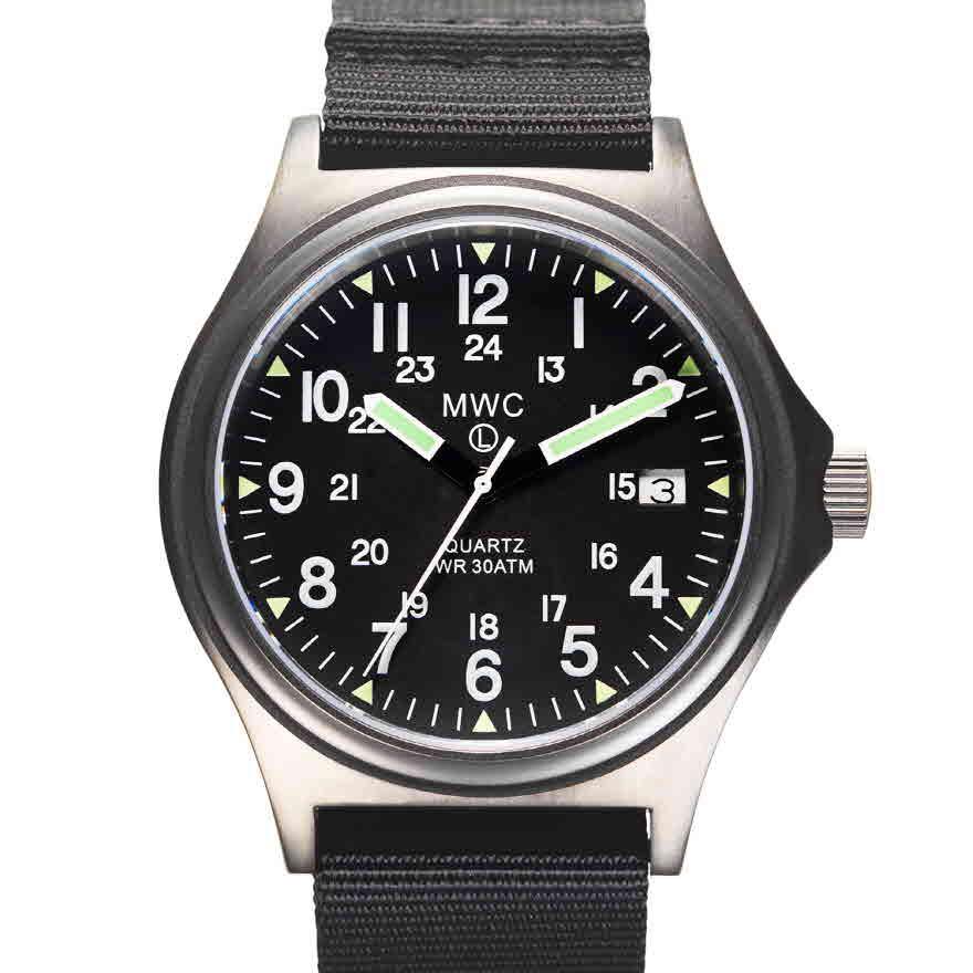 G10 30기압방수 영국군시계 건메탈 (미군24시 버전) - 시계줄 2개 제공