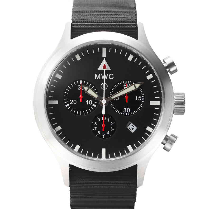 크로노그래프 마크4 영국 공군시계 - 시계줄 2개 제공