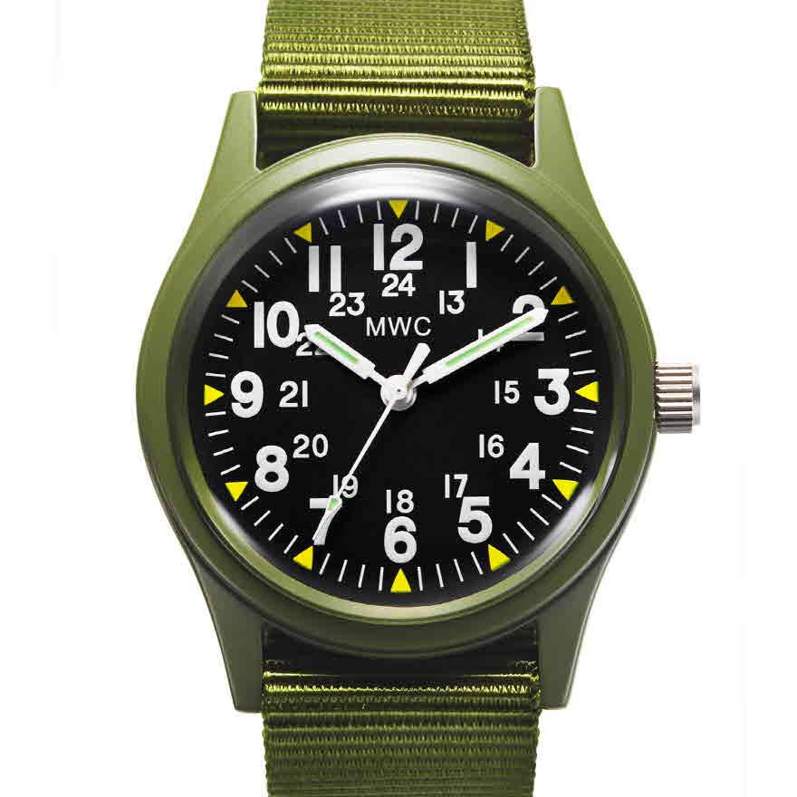 베트남전 미군시계 - 올리브