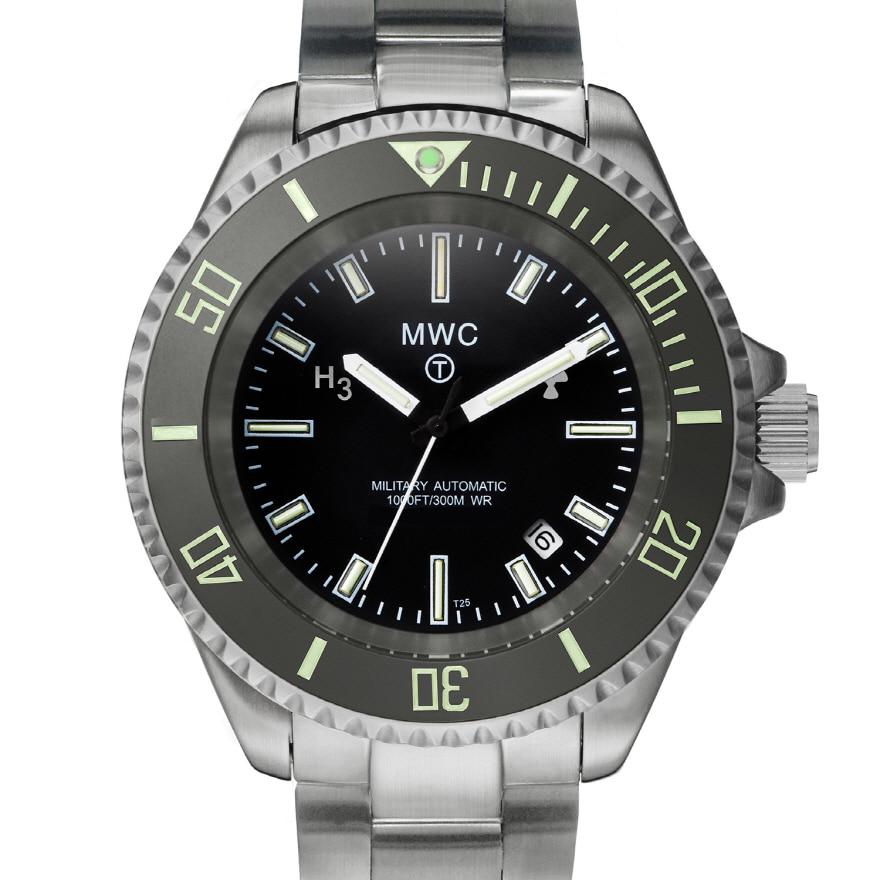 Military Diver Tritium with Bracelet