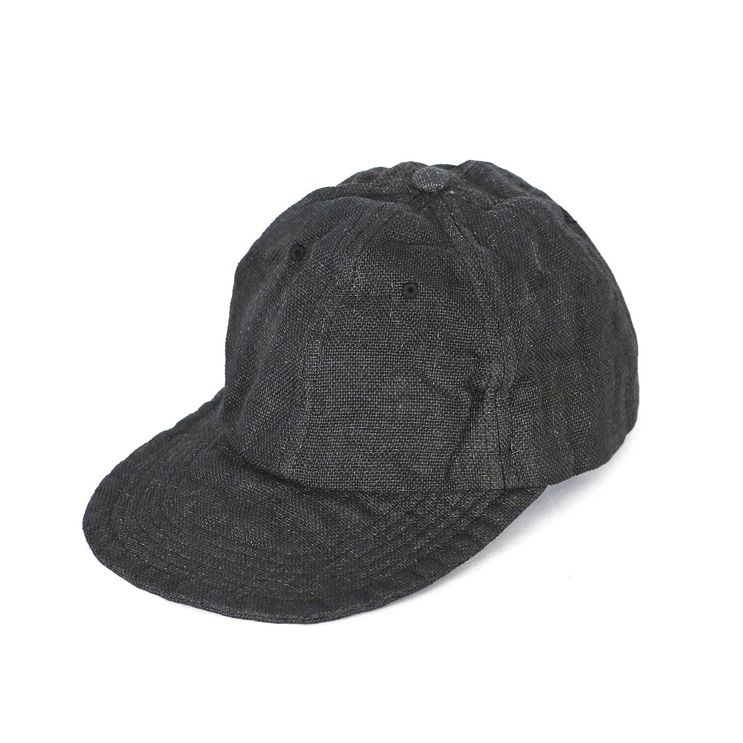 Overdyed P/Cloth Travel Cap - Black