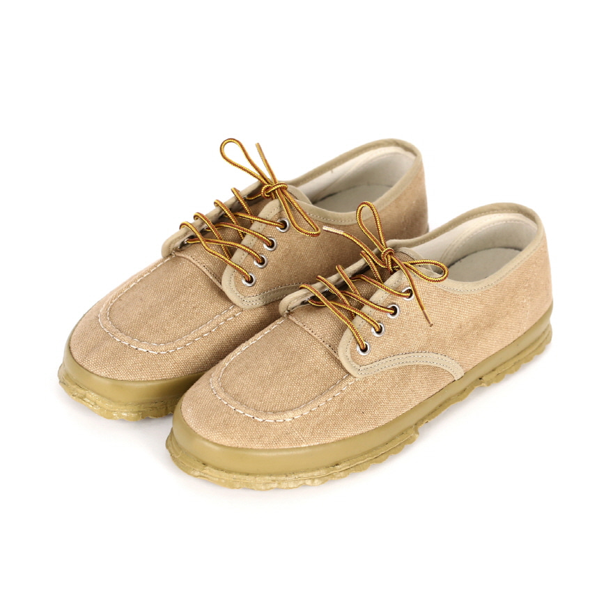 Work Oxford Moc-toe Type - Beige LF