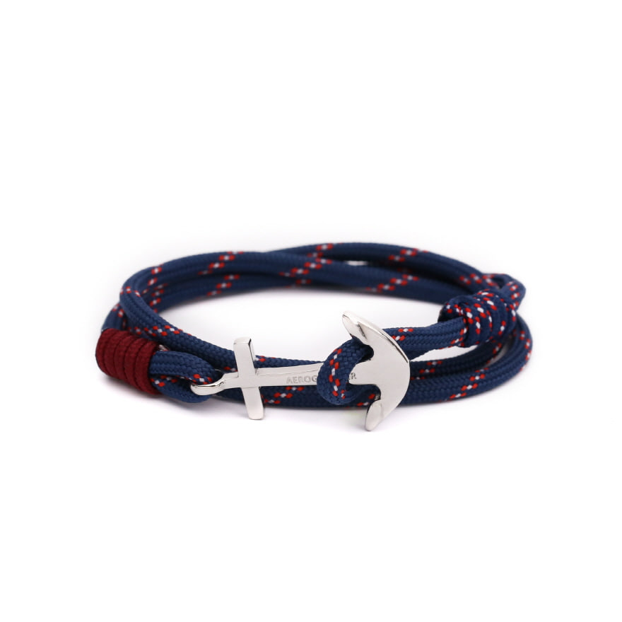 Anchor Bracelet - Surf Navy