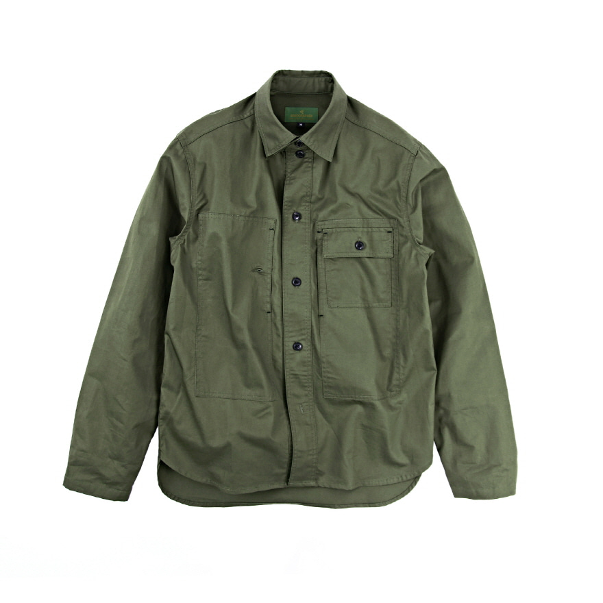 Utility Shirts Jacket - Olive