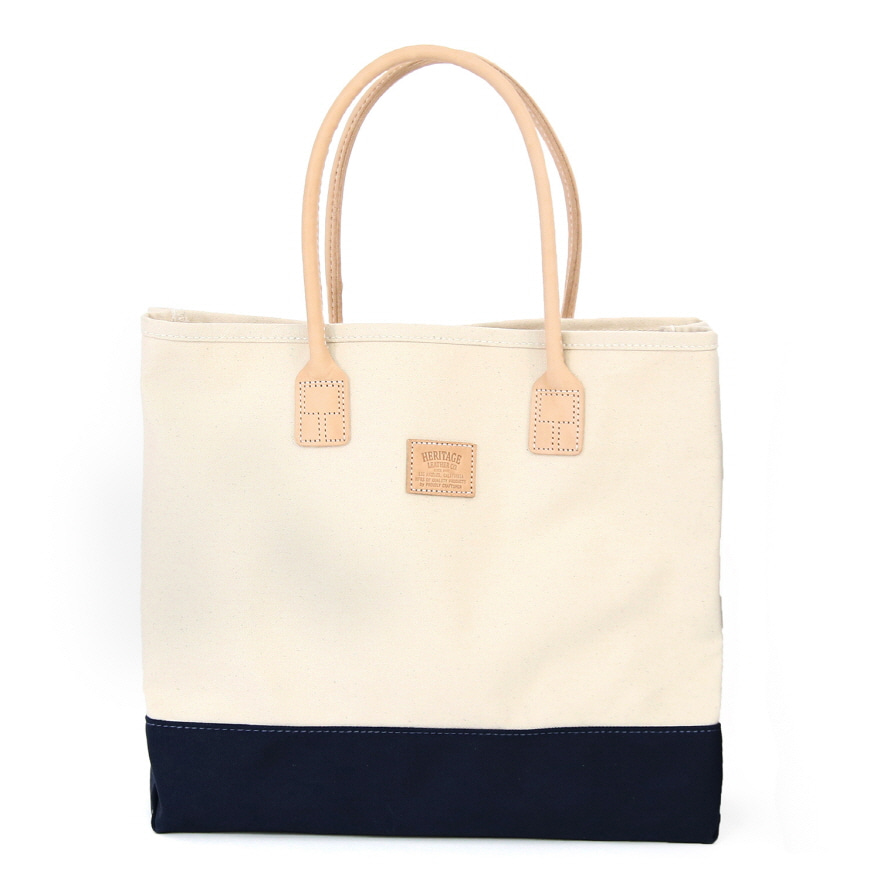 Day Tote - Natural / Navy
