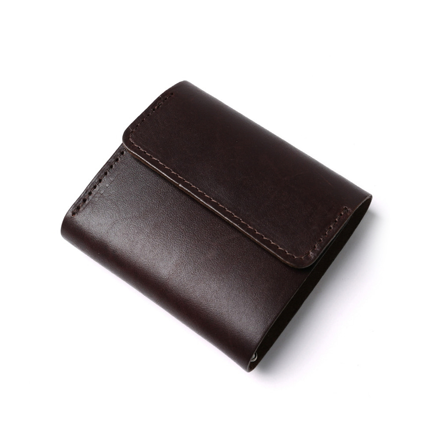 Tri-Fold Wallet - Brown
