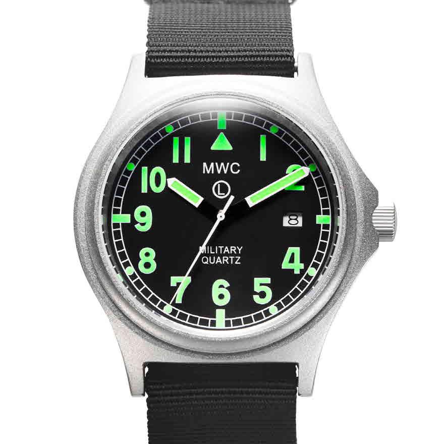 G10 배터리해치 영국군시계 - 시계줄 2개 제공