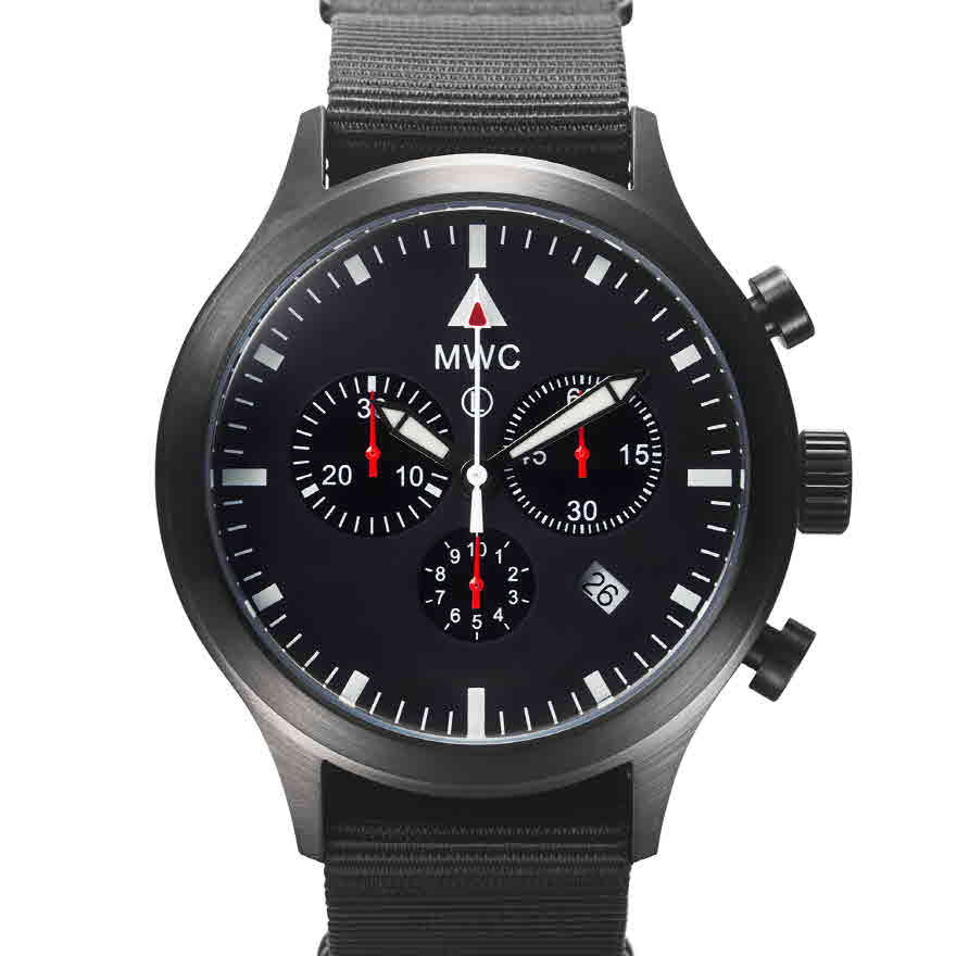 Chronograph Mark4 Pilot PVD