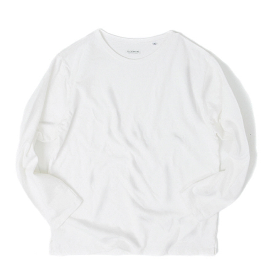 Boat Neck Long Sleeve - Off White