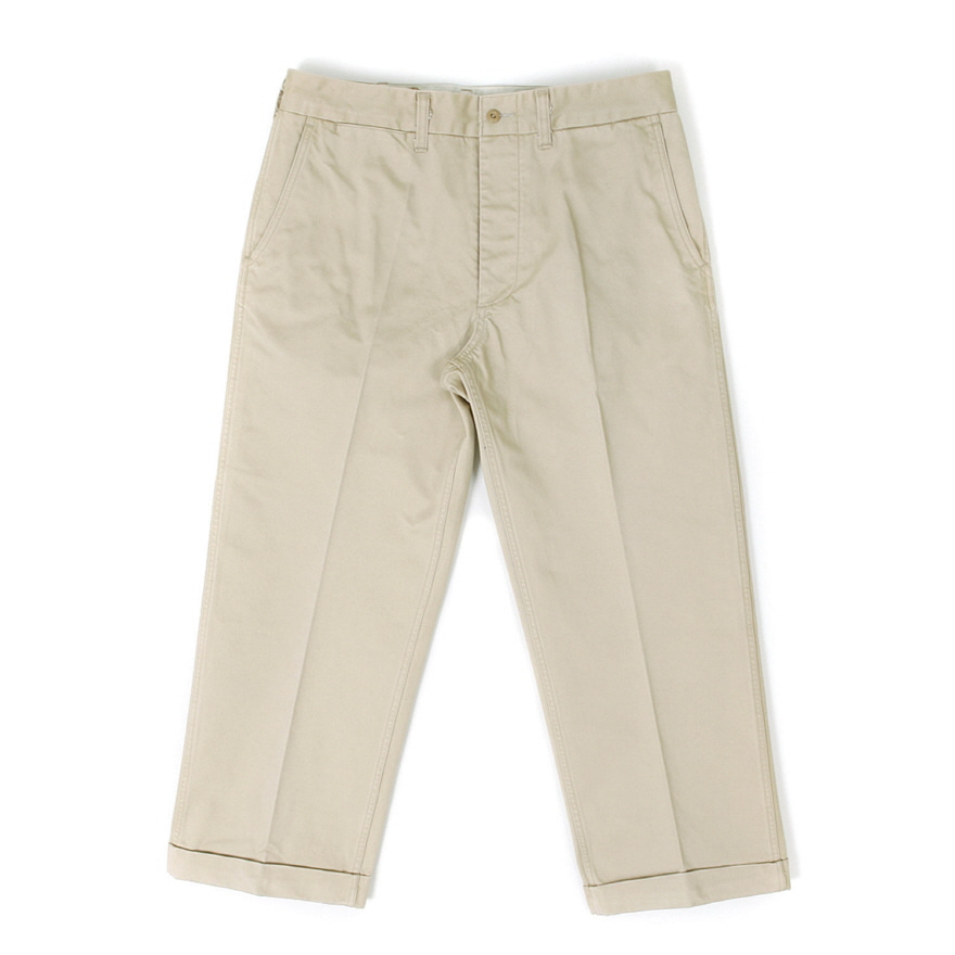 Suspender Chino Trousers - Beige