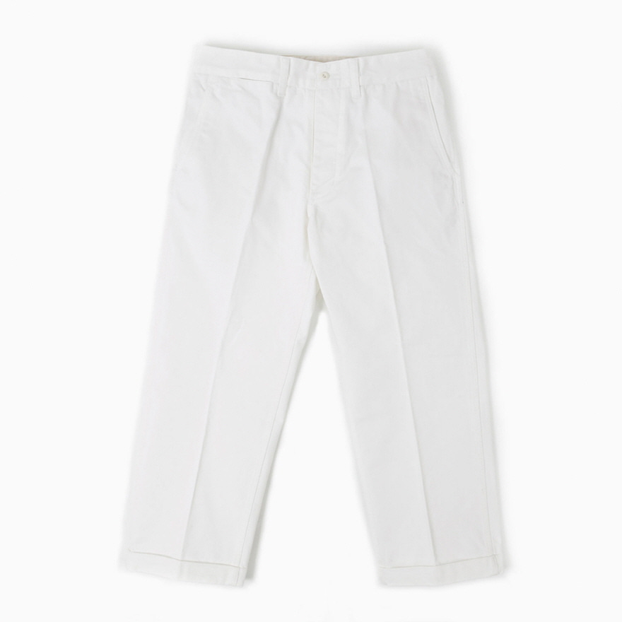 Suspender Chino Trousers - Off white