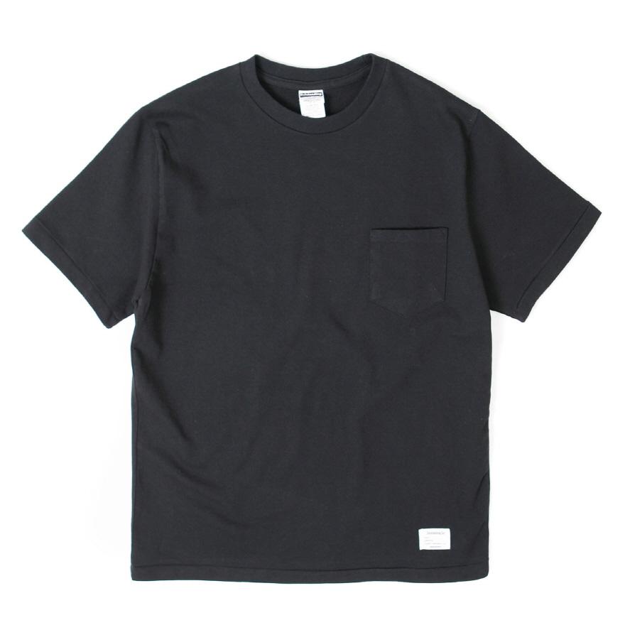 Standard Pocket Crewneck - Black