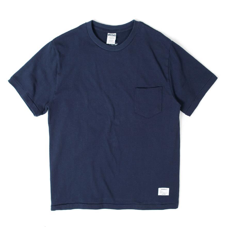 Standard Pocket Crewneck - Navy