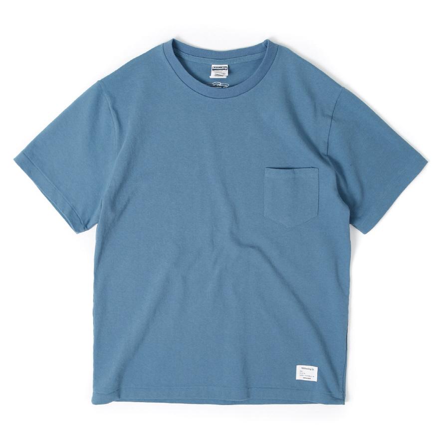 Standard Pocket Crewneck - Vintage Blue