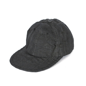 Overdyed P/Cloth Travel Cap - Black
