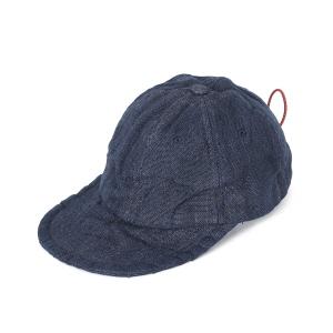 Overdyed P/Cloth Travel Cap - Navy